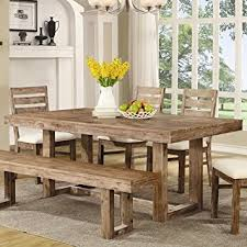 Amazoncom Coaster  Elmwood Rustic  X  X Inch U - Amazon kitchen tables