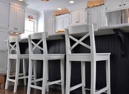 Kitchen Island Stool Height Stools Wonderful Kitchen Brown Varnished Pine Wood Bar Stool