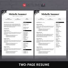 Two Page Resume 100 Two Page Resume Header The Chaocipher Clearing House