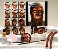 werewolf makeup kit wolf makeup kit halloween makeup kits