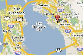 california map oakland scientific platers inc oakland california