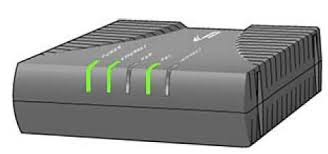 Dsl Light Blinking No Internet Description Of Lights On A Westell 6100 Dsl Modem And What To Do