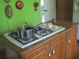 kitchen kitchen islands with stove top and oven deck shed
