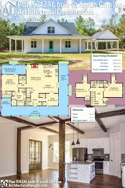 58 best farmhouse plans images on pinterest dream house plans