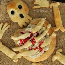 skeleton bread bone breadsticks made in a day