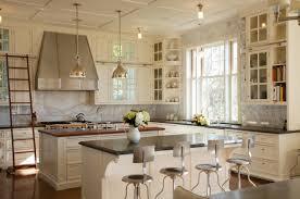 Vintage Kitchen Backsplash Amazing Traditional Kitchen Design With Backsplash And Chandeliers