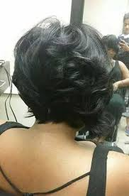 back view wavy short bob for thick hair 2015 stylish bob hairstyles for thick hair bob hairstyles 2017