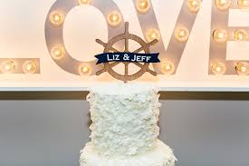 nautical cake toppers nautical wedding in jacksonville floridian weddings