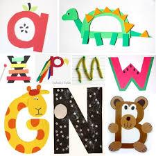 letter crafts picmia