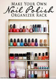 organize your nail polish diy nail polish organizer