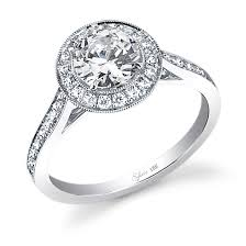 Halo Wedding Rings by The Sylvie Collection Sylvie Engagement Rings At Alexis Diamond