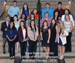 radiation therapy program texas state university