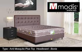 spring bed jual promo modis spring bed antimosquito plus top ukr 6 kaki