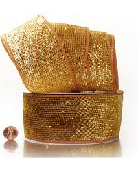 deco mesh ribbon get the deal coffee gold laser deco mesh ribbon 2 1 2 x 20 yards