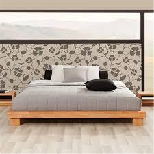king platform bed wood solid frame modern bedroom with drawers vs