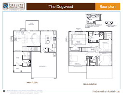 Dimensions Of 3 Car Garage Dogwood Piedmont Residential Home Builder In Canton Ga