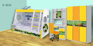 Childrens Bedroom Furniture With Storage by Children Bedroom Furniture With Kids Bunk Trundle Bed Two Door