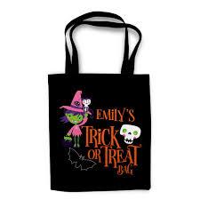 witch halloween trick or treat bag u2013 heart u0026 willow prints