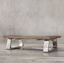 Trestle Coffee Table 19 Best Metal Base Wood Coffee Tables Images On Pinterest Wood