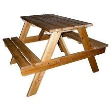 kids outdoor picnic table kids indoor outdoor picnic table brown ore international target