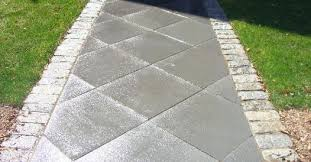 Patio Designs With Concrete Pavers Green Fields Landscaping Walkways Designed And Built 781 781 8722