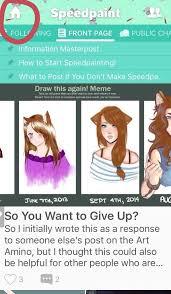Customize Meme - amino tutorial 2 how to customize your profile speedpaint amino