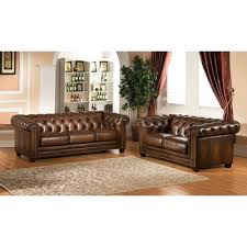 Simmons Sofa Reviews by Loveseat Zephyr Chenille And Leather Living Room Sofa Loveseat