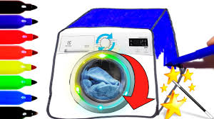 it u0027s working magic washing machine coloring pages how to draw a