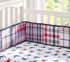 Pottery Barn Kids Baby Bedding Crab Madras Nursery Bedding Pottery Barn Kids