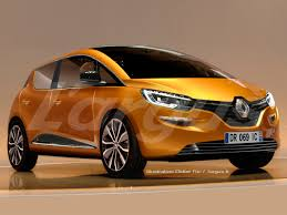 renault orange 2017 renault scenic arrives in june 2016