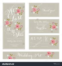 simple wedding invitations and thank you cards 38 for your rsvp