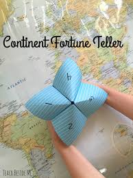 Fun Games For Kids At Home by Continent Fortune Teller Teach Beside Me