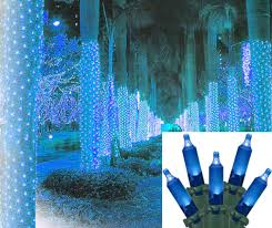 2 u0027 x 8 u0027 blue led net style tree trunk wrap christmas lights fia uimp