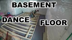 diy dance floor in your basement the handyman youtube