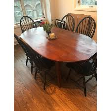 mahogany brass neoclassical extension dining table aptdeco
