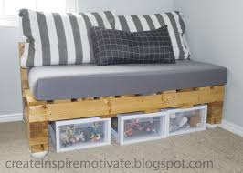 furniture classy minimalist wood pallet sofa idea with grey