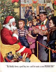more vintage christmas ads santa and other curiosities