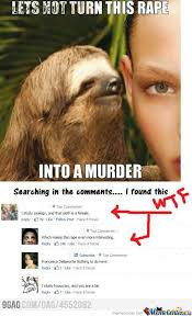Rape Sloth Memes - rape sloth by recyclebin meme center