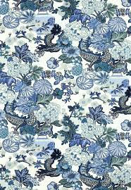 new chinoiserie fabric from schumacher