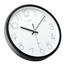 Wall Clock Design Amazon Com Upgrade Version Plumeet 12 Inch Non Ticking Silent