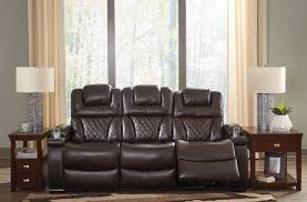washington chocolate reclining sofa warnerton chocolate power reclining sofa from ashley coleman furniture
