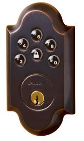 Baldwin Door Hardware Baldwin 8252 Ac1 Boulder Keyless Entry Single Cylinder Electronic