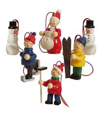 vintage world wooden german tree ornaments
