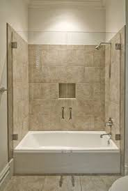 Bathroom Tub Tile Ideas Pictures The Shower Easily Converts Into A Comfortable And Spacious Bath