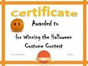 halloween certificate templates halloween pinterest