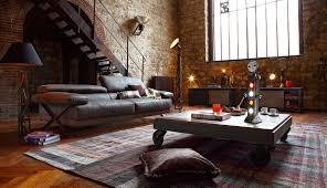 Loft Living Room by Industrial Style Living Room Design The Essential Guide