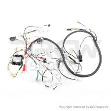gy6 150cc scooter main wire harness drowsports