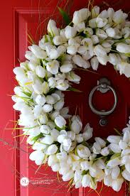 tulip wreath make a tulip wreath floral ideas michaelsmakers