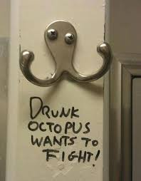Octopus Meme - drunk octopus wants to fight funny pictures