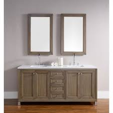 chicago 72 inch white washed walnut double bathroom vanity free